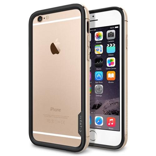 "Spigen SGP iPhone 6 (4.7"") Case Neo Hybrid EX Metal Series Champagne Gold - SGP11187"
