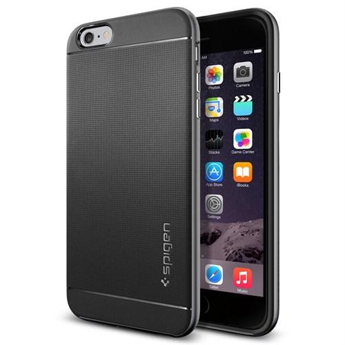 "Spigen Sgp iPhone 6 Plus Kılıf (5.5"") Neo Hybrid Series Gunmetal - SGP11064"