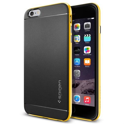 Spigen Apple 6s Plus/6 Plus Kılıf Neo Hybrid Serisi Reventon Yellow - 11067