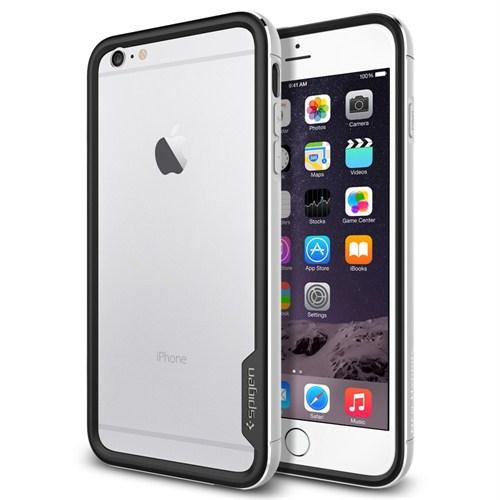 "Spigen SGP iPhone 6 Plus Kılıf (5.5"") Neo Hybrid Ex Metal Series Satin Silver - SGP11191"