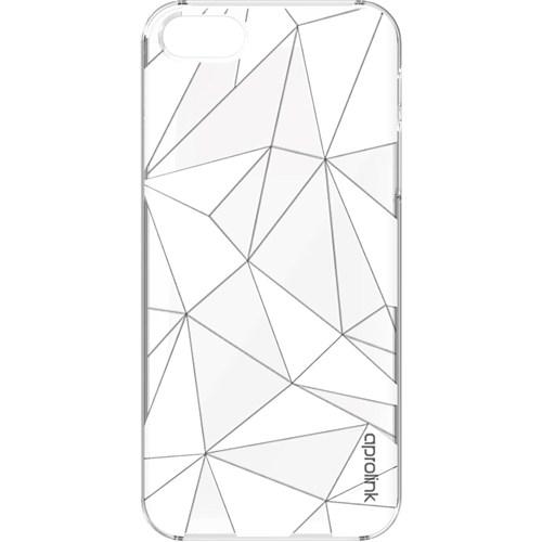 Aprolink Apple iPhone 6 Origami Kristal Desenli Ultra İnce Kılıf Seffaf - I6PP21TR
