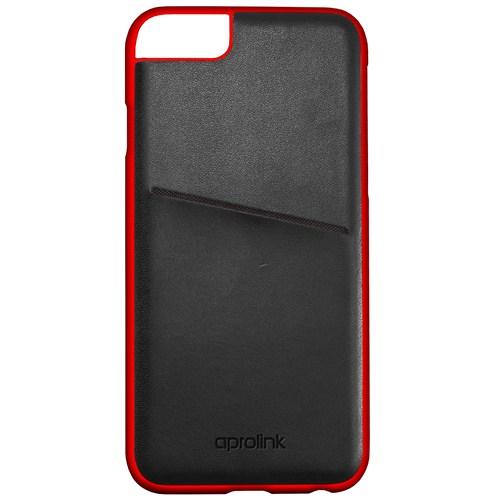 Aprolink Apple iPhone 6 Origami Makaron Kart Cepli Kılıf Siyah - I6DD20BK