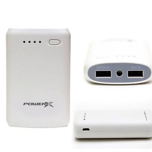 Codegen Powerx 7800 mAh Çift USB Beyaz Taşınabilir Şarj Cihazı Powerbank X50-W