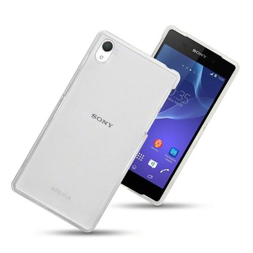 Case 4U Sony Xperia Z3 Şeffaf Arka Kapak