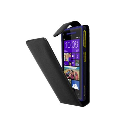 Case 4U HTC Windows Phone 8S Kapaklı Kılıf*