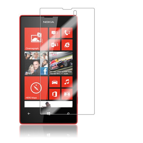 Case 4U Nokia Lumia 520/525 Ekran Koruyucu ( Parmak izi bırakmaz )*