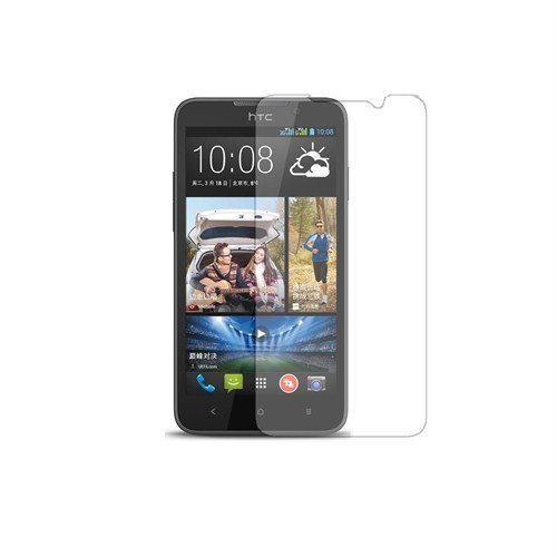 Case 4U HTC Desire 516 Ultra Şeffaf Ekran Koruyucu