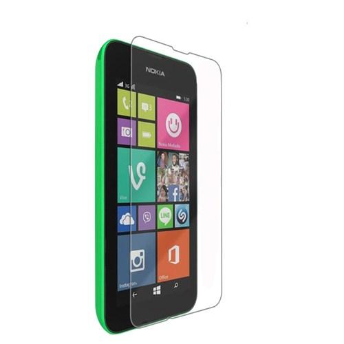 Case 4U Nokia Lumia 530 Ultra Şeffaf Ekran Koruyucu