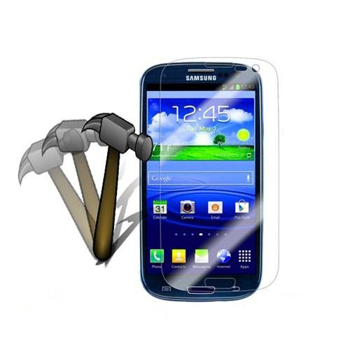 Case 4U Samsung i9300 Galaxy S III Ekran Koruyucu (Kırılmaz,Cizilmez Anti Shock)
