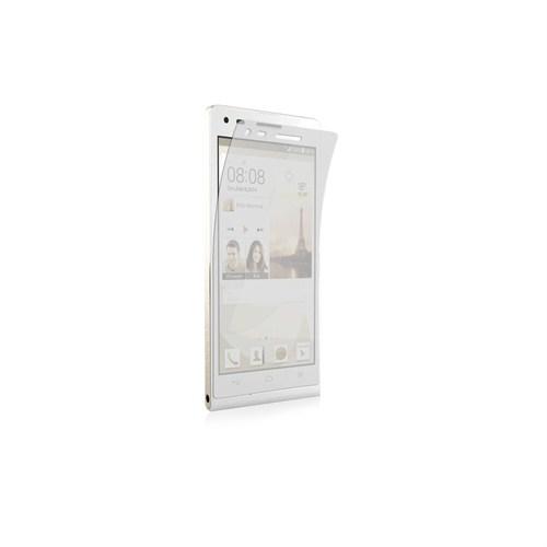 Case 4U Huawei Ascend P7 Ultra Şeffaf Ekran Koruyucu