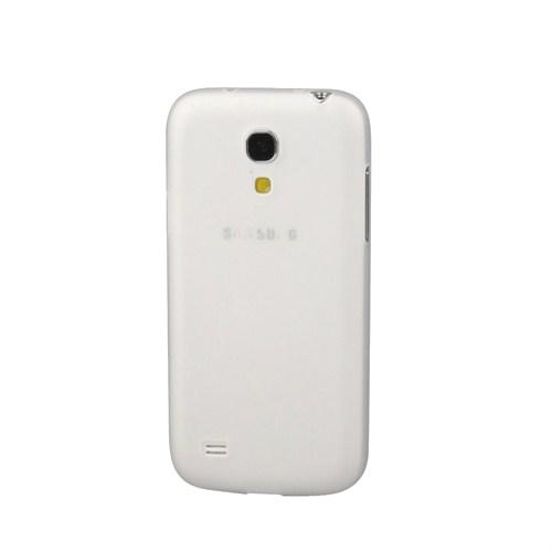 Case 4U Samsung i9190 Galaxy S4 Mini Ultra ince 0,3 mm Beyaz