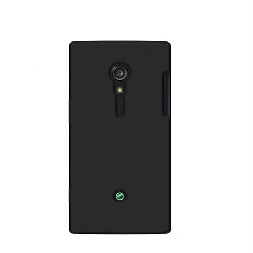 *Case 4U Sony Xperia ion LTE Arka Kapak Siyah