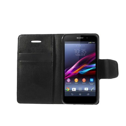 Case 4U Sony Xperia Z1 Siyah Kılıf