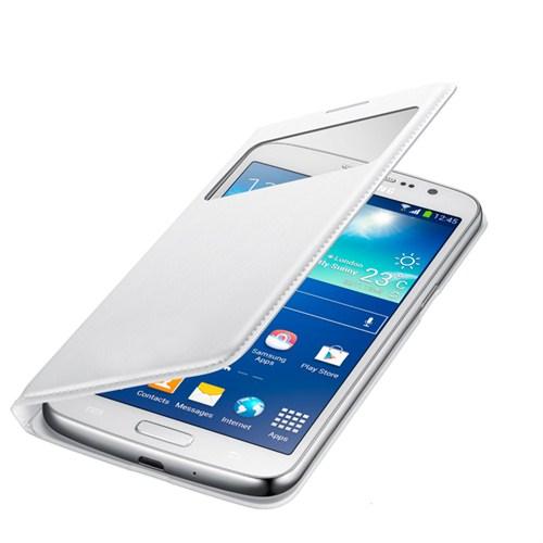 Case 4U Samsung Glaxy Grand 2 NG7100 Beyaz Kılıf ( Uyku Modlu)