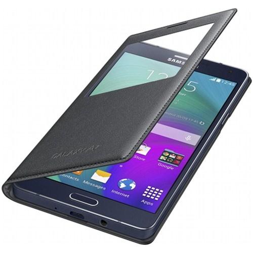 Samsung Galaxy A7 Kapaklı Kılıf Siyah - EF-CA700BCEGWW