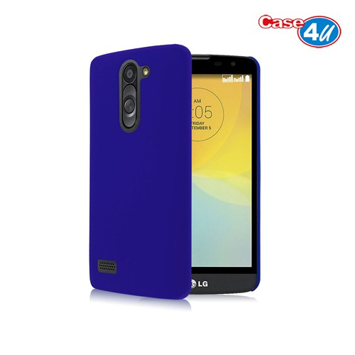 Case 4U LG Avea L Bello Soft Silikon Kılıf Koyu Mavi