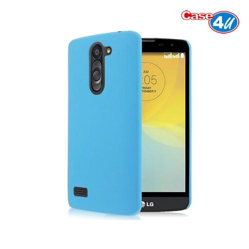 Case 4U LG Avea L Bello Soft Silikon Kılıf Mavi