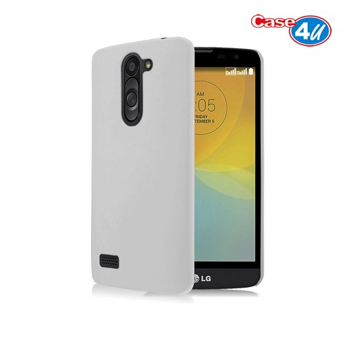 Case 4U LG Avea L Bello Soft Silikon Kılıf Şeffaf Beyaz