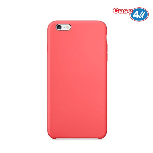 Case 4U Apple iPhone 6 Plus İnce Arka Kapak Pembe