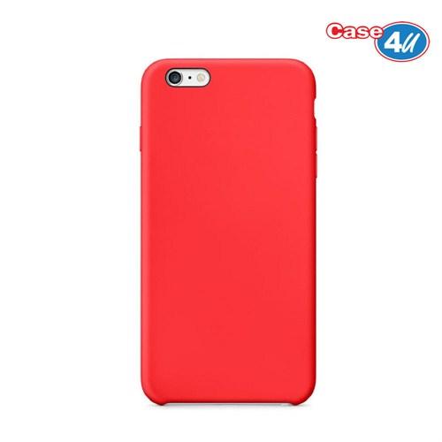 Case 4U Apple iPhone 6 Plus İnce Arka Kapak Kırmızı