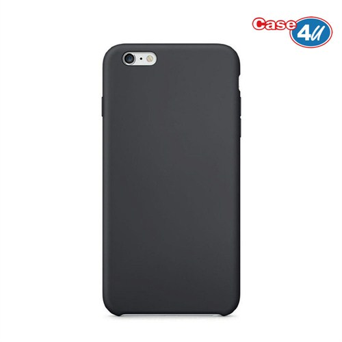 Case 4U Apple iPhone 6 İnce Arka Kapak Siyah