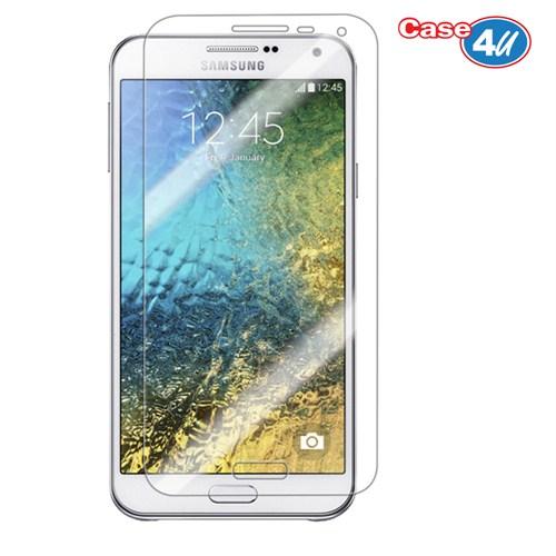 Case 4U Samsung Galaxy E7 Ultra Şeffaf Ekran Koruyucu