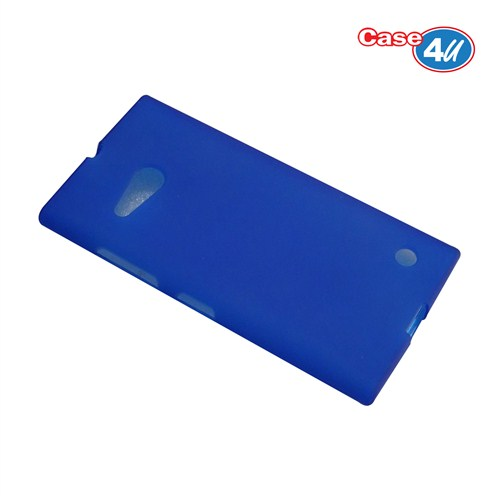 Case 4U Nokia Lumia 735 Soft Silikon Kılıf Mavi