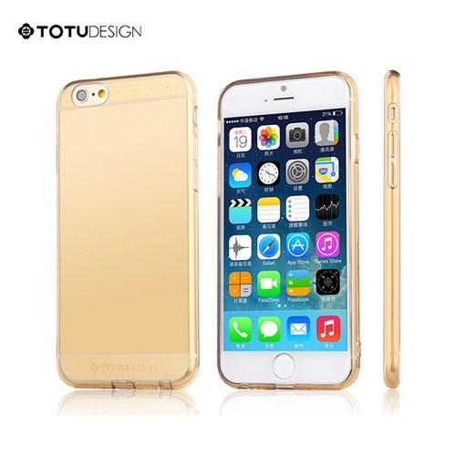 Totu Design Apple iPhone 6 Plus Soft Altın Kılıf