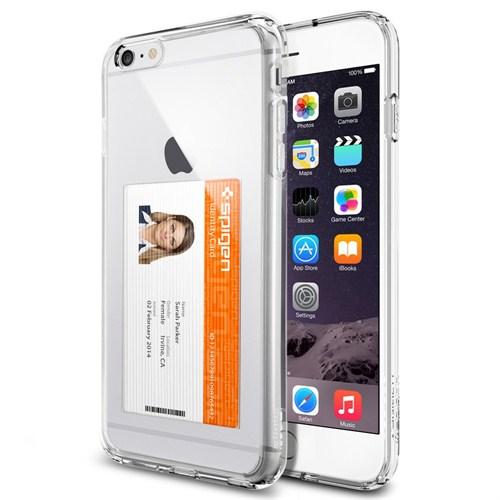 Spigen Sgp iPhone 6 Plus Kılıf (5.5) Ultra Hybrid ID Crystal Clear - SGP11282