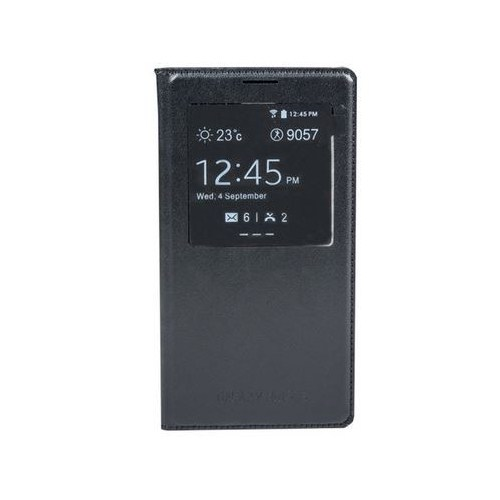 Cepium Samsung Galaxy Note 3 Pencereli Sview Flip Cover Kılıf Siyah - TR-27196