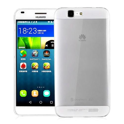 Microsonic Huawei Ascend G7 Clear Soft Şeffaf Kılıf - CS130-CLR-HW-G7