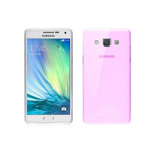 Microsonic Transparent Soft Samsung Galaxy A3 Kılıf Pembe - CS130-TRP-GLX-A3-PMB