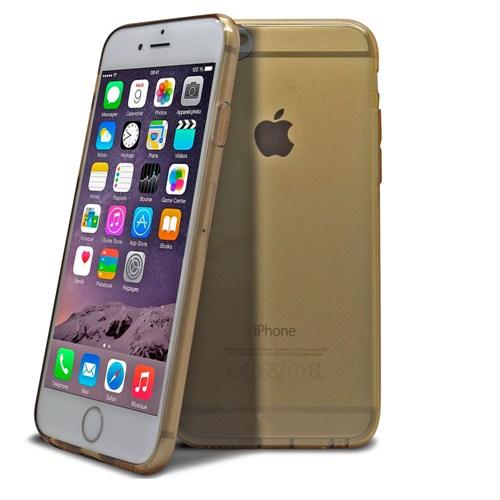 Case 4U Apple iPhone 6 Ultra İnce Altın Kapak