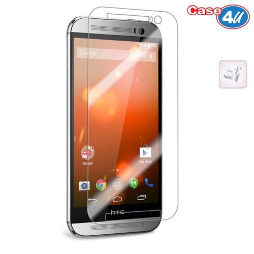 Case 4U HTC One M8 Mini 2 Ultra Şeffaf Ekran Koruyucu