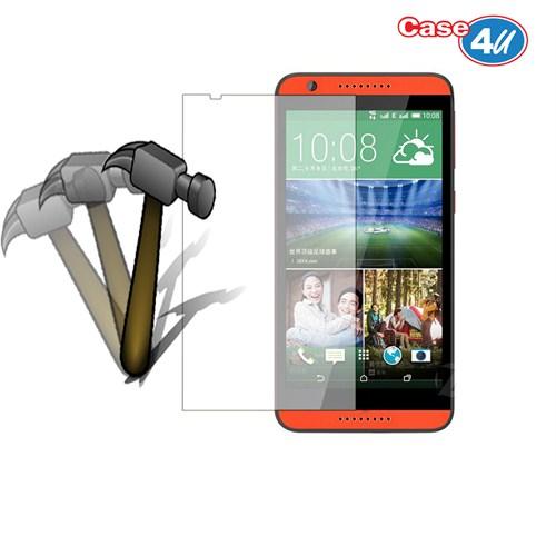 Case 4U HTC Desire 820 Ekran Koruyucu (Kırılmaz,Cizilmez-Anti Shock)