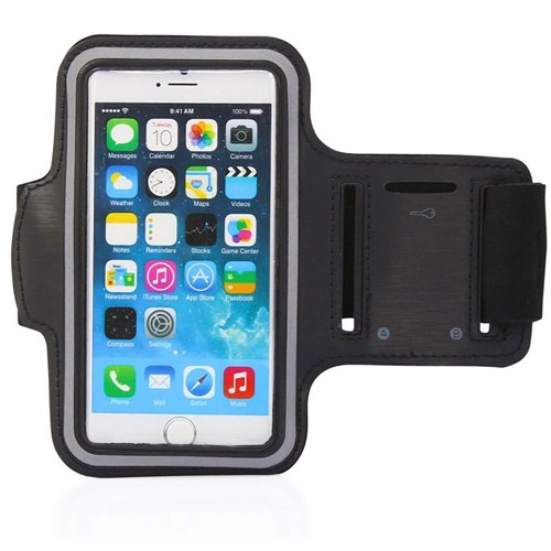 Case 4U iPhone 6 Plus Kol Bandı Siyah