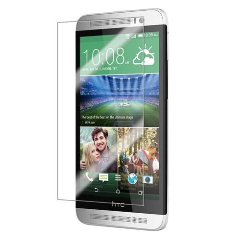 Case 4U HTC One (E8) Ultra Şeffaf Ekran Koruyucu