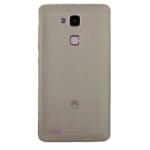 Case 4U Huawei Ascend Mate 7 Soft Silikon Kılıf Füme