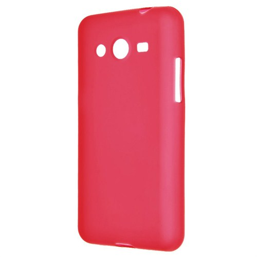 Case 4U Samsung Galaxy Core Prime G360 Soft Silikon Kılıf Kırmızı