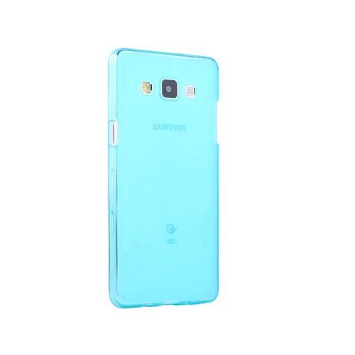 Microsonic Transparent Soft Samsung Galaxy A7 Kılıf Mavi - CS130-TRP-GLX-A7-MVI