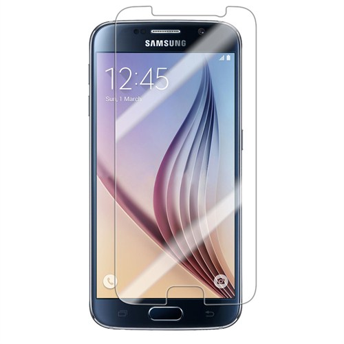 Case 4U Samsung Galaxy S6 Ultra Şeffaf Ekran Koruyucu