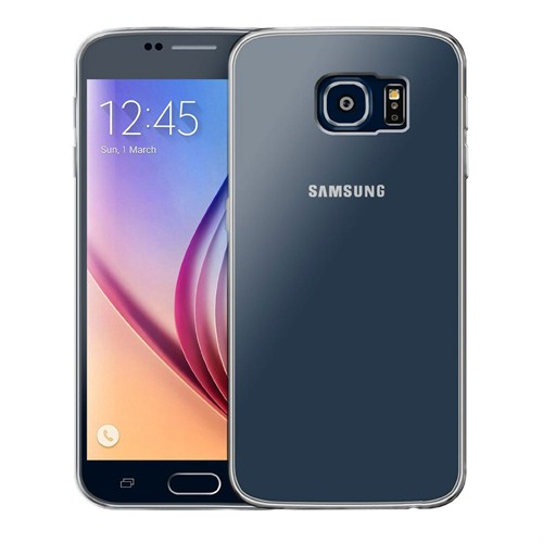 Case 4U Samsung Galaxy S6 Ultra İnce Şeffaf Silikon Kılıf