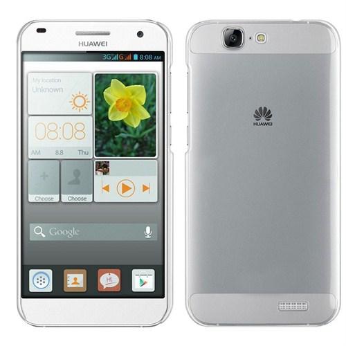 Case 4U Huawei Ascend G7 Ultra İnce Şeffaf Silikon Kılıf