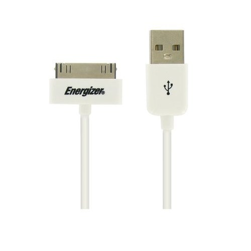 Energizer LCHEHUSBSYIP2 Hightech Usb 1m iPhone/iPad için 30pin To Usb Data + Şarj Kablosu - 13856