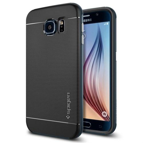 Spigen Sgp Samsung Galaxy S6 Kılıf Neo Hybrid - Metal Slate - SGP11319