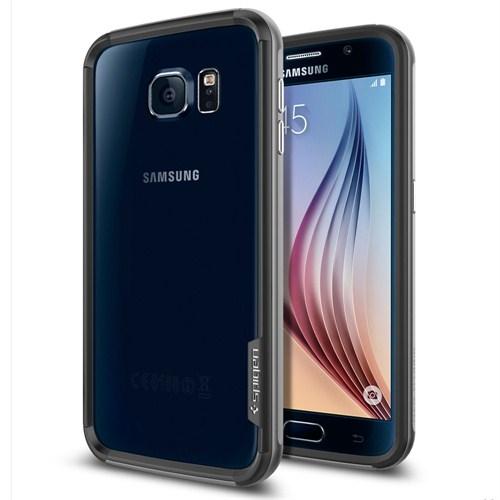 Spigen Samsung Galaxy S6 Kılıf Neo Hybrid EX - Gun Metal - SGP11441