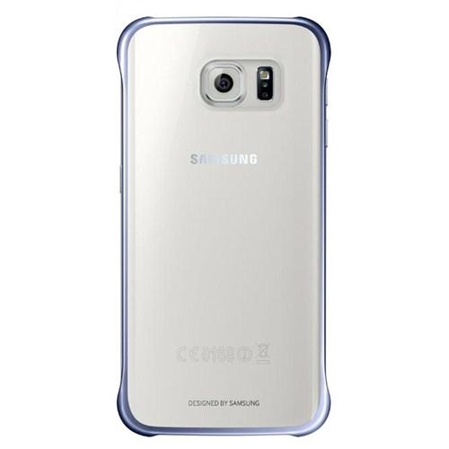 Samsung Galaxy S6 Edge Şeffaf Siyah Kılıf - EF-QG925BBEGWW