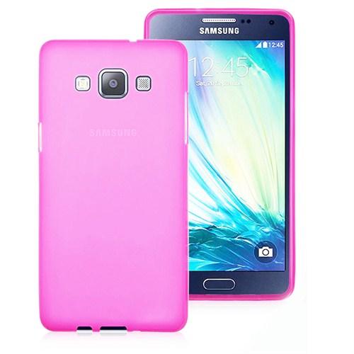 Case 4U Samsung Galaxy A7 Ultra İnce Pembe Silikon Kılıf