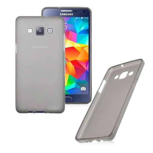 Case 4U Samsung Galaxy Grand Prime Ultra İnce Füme Silikon Kılıf