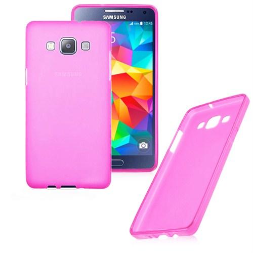Case 4U Samsung Galaxy Grand Prime Ultra İnce Pembe Silikon Kılıf
